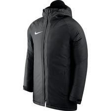 nike jacket academy 18 - black/white kids - jackets