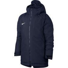 nike vinterjakke academy 18 - navy/hvid børn - jakker