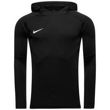 nike hoodie dry academy 18 l/s - black/anthracite/white - hoodies