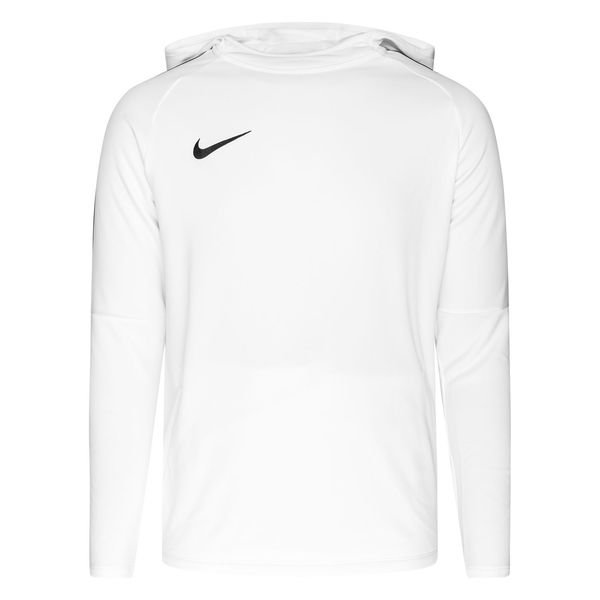 extremadamente gradualmente Aniquilar  Nike Hoodie Dry Academy 18 - White/Black Long Sleeves |  www.unisportstore.com
