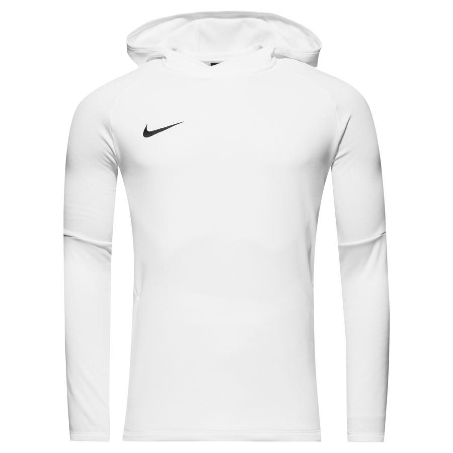 eca72d08e6d3 nike sweat à capuche dry academy 18 manches longues - blanc noir - sweats à  ...