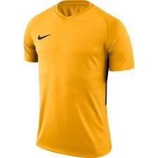 nike playershirt tiempo premier s/s - yellow/black kids - football shirts