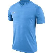 nike playershirt tiempo premier s/s - light blue/white - football shirts