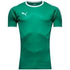 puma spilletrøje liga - grøn/hvid - fodboldtrøjer