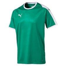 puma playershirt liga - green/white kids - football shirts