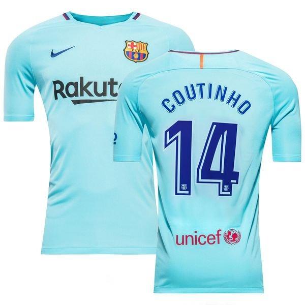 new arrival 21205 f1673 Barcelona Away Shirt 2017/18 COUTINHO 14