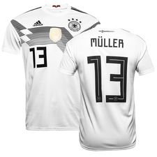 germany home shirt world cup 2018 müller 13 - football shirts