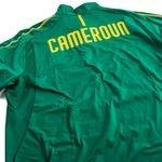 cameroun træningstrøje 1/4 lynlås - grøn - fodboldtrøjer