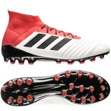 adidas Predator 18.1 AG Cold Blooded - Wit/Zwart/Rood