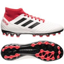adidas Predator 18.3 AG Cold Blooded - Wit/Zwart/Rood