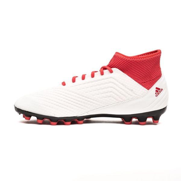 ... adidas predator 18.3 ag cold blooded vit svart röd fotbollsskor 4cc463172d35c