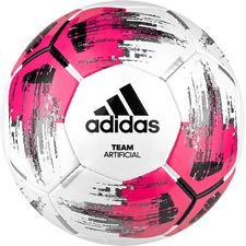Image of   adidas Fodbold Team Artificial Grass - Hvid/Sort/Pink