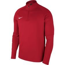 nike training shirt dry academy 18 - university red/white kids - training tops