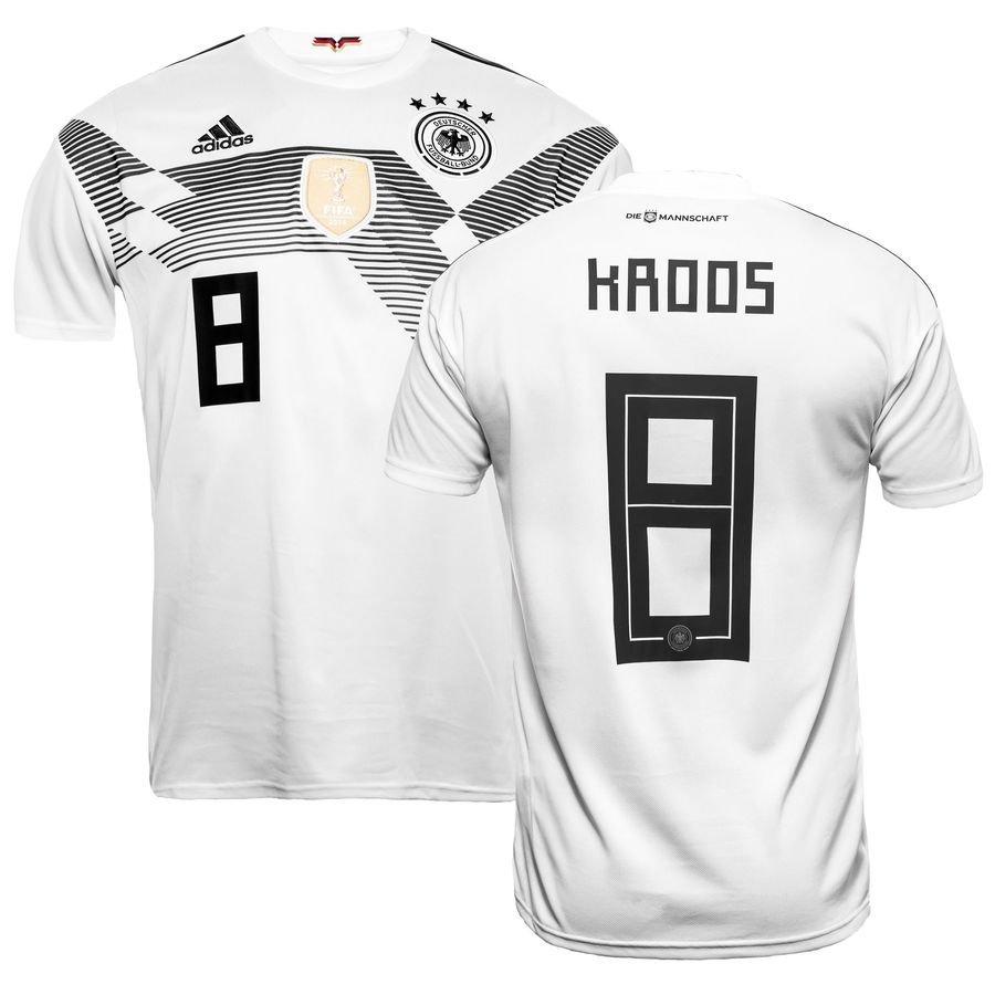 germany home shirt world cup 2018 kroos 8 kids - football shirts ... b3450c285