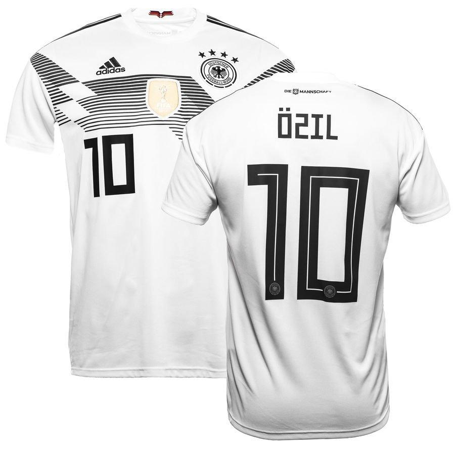 af447a057 germany home shirt world cup 2018 özil 10 - football shirts ...