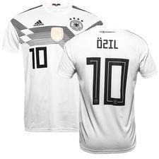 germany home shirt world cup 2018 özil 10 - football shirts