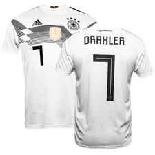 germany home shirt world cup 2018 draxler 7 kids - football shirts