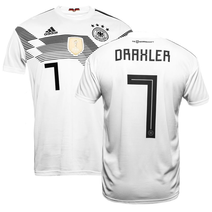germany home shirt world cup 2018 draxler 7 kids - football shirts ... aba2376a2