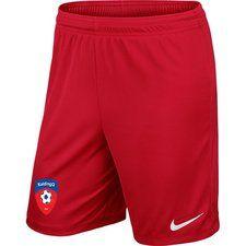koldingq - udebaneshorts rød børn - fodboldtrøjer