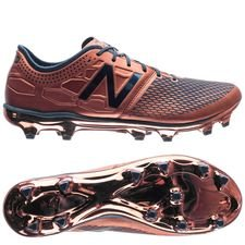 new balance visaro 2.0 pro fg conduction pack - copper metallic/blue limited edition - football boots