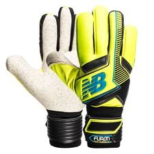 new balance goalkeeper gloves furon negative kasper schmeichel - yellow - goalkeeper gloves