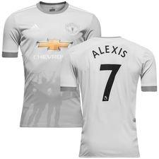 manchester united 3. trøje 2017/18 alexis 7 - fodboldtrøjer