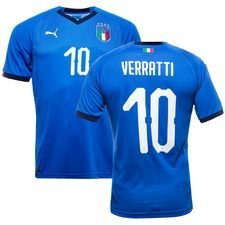 italien hjemmebanetrøje 2017/18 verrati 10 - fodboldtrøjer