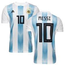 argentina hjemmebanetrøje vm 2018 messi 10 børn - fodboldtrøjer