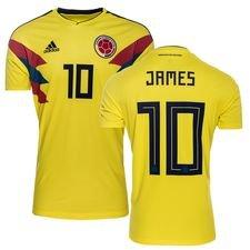 colombia hjemmebanetrøje vm 2018 james 10 børn - fodboldtrøjer