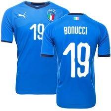 italien hjemmebanetrøje 2017/18 bonucci 19 - fodboldtrøjer