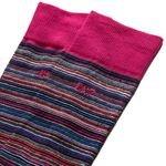 cr7 underwear sokker 2-pack - sort/blå/rød - sokker