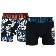 cr7 underwear trunks 2-pack - black/white kids - underwear