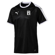 fredensborg bi - udebanetrøje sort børn - fodboldtrøjer
