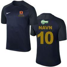 rudersdal bk - 5 års jubilæumstrøje navy - fodboldtrøjer