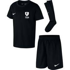 top scorer academy - mini-kit sort børn - fodboldtrøjer