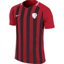 ishøj if - hjemmebanetrøje rød/sort børn - fodboldtrøjer