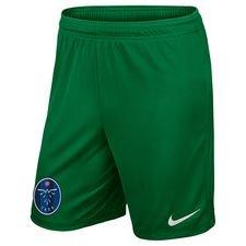 task - målmandsshorts grøn børn - fodboldshorts