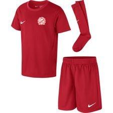 lejerbo bk - mini-kit rød børn - fodboldtrøjer
