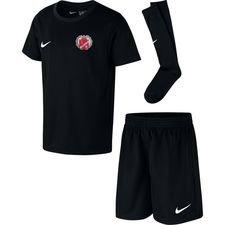 gundsølille sgif - mini-kit sort børn - fodboldtrøjer