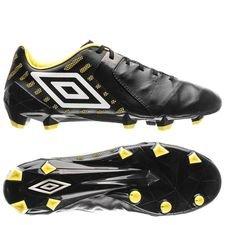 umbro medusae ii pro hg - sort/hvid/gul - fodboldstøvler