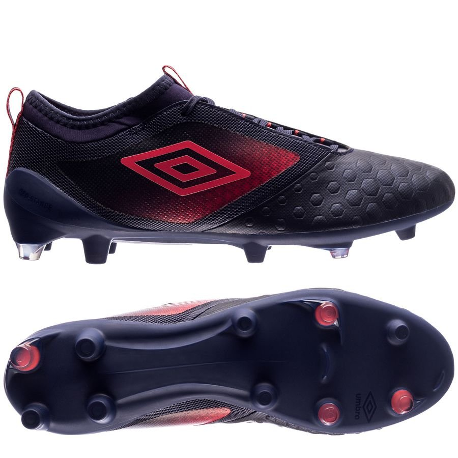 umbro ux accuro ii pro fg - eclipse/lava pink/white - football boots