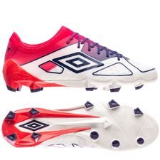 umbro velocita 3 pro hg - white/eclipse/lava pink - football boots