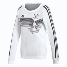tyskland hjemmebanetrøje sweatshirt vm 2018 primeknit l/æ limited edition dame - fodboldtrøjer