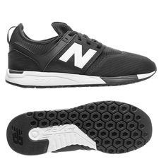 new balance classic 247 - black/white - sneakers