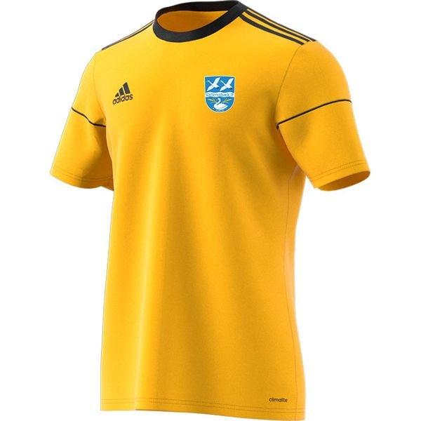 vallensbæk if - hjemmebanetrøje gul børn - fodboldtrøjer