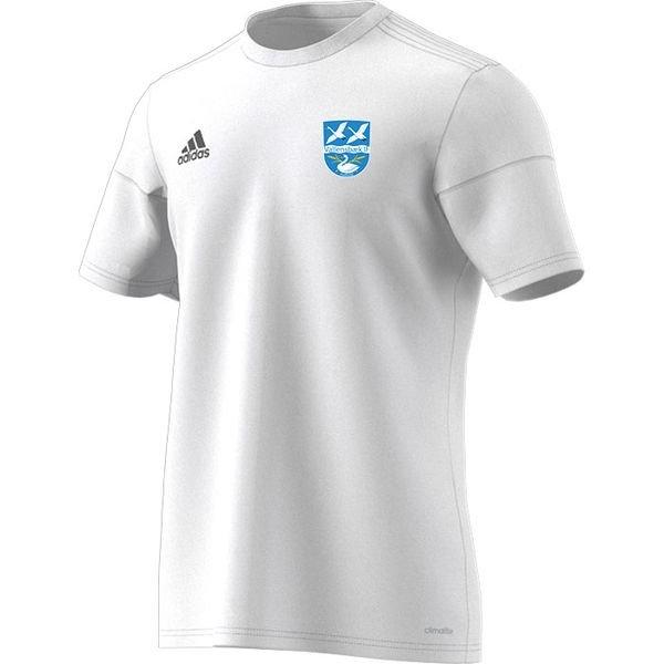 vallensbæk if - udebanetrøje hvid børn - fodboldtrøjer
