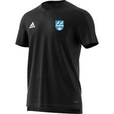 vallensbæk if - condivo trænings t-shirt sort - træningstrøjer