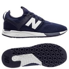 new balance classic 247 - navy/hvid - sneakers
