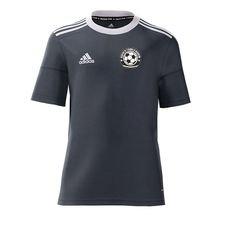 gentofte fodbold akademi - hjemmebanetrøje grå børn - fodboldtrøjer