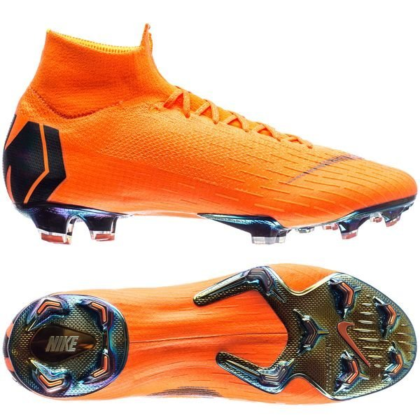 10064c64c18 Nike Mercurial Superfly 6 Elite FG Fast AF - Oransje Sort Neon LIMITED STOCK